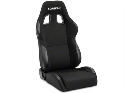Corbeau A4 Seat - Black - Pair (79-19 All)