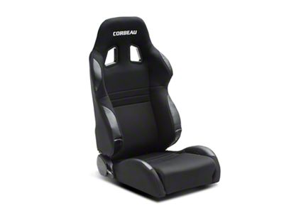 Corbeau A4 Seat - Wide - Black - Pair (79-19 All)