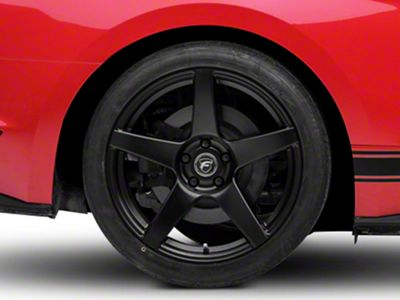 Forgestar CF5 Monoblock Matte Black Wheel - 19x11 - Rear Only (15-19 GT, EcoBoost, V6)