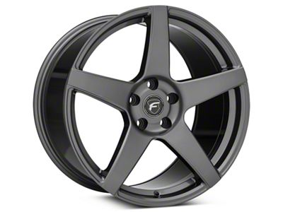 Forgestar CF5 Monoblock Gunmetal Wheel - 19x11 - Rear Only (05-14 All)