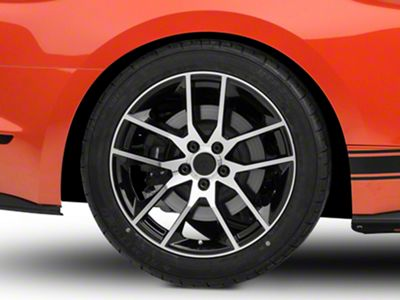 Magnetic Style Black Machined Wheel - 19x10 (15-19 GT, EcoBoost, V6)