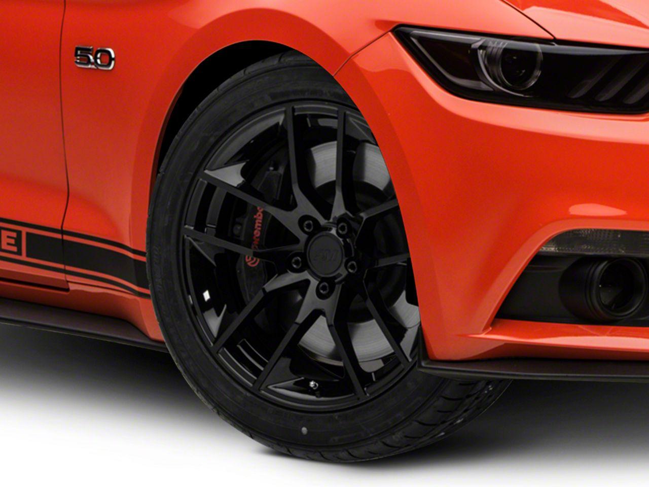Magnetic Style Black Wheel - 19x8.5 (15-19 GT, EcoBoost, V6)