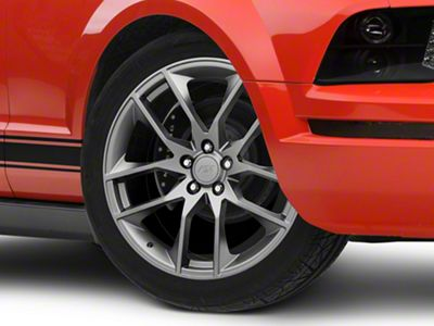 Magnetic Style Charcoal Wheel - 20x8.5 (05-14 All)