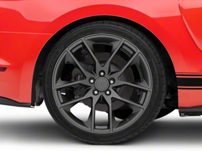 Magnetic Style Charcoal Wheel - 20x10 - Rear Only (15-19 GT, EcoBoost, V6)