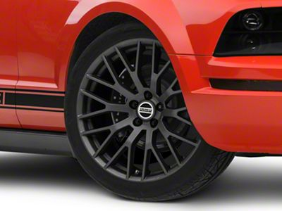 Performance Pack Style Charcoal Wheel - 20x10 - Rear Only (05-14 All)