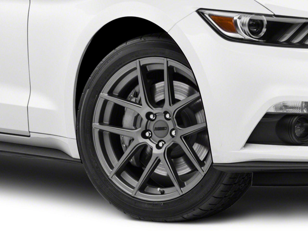 MMD Zeven Charcoal Wheel - 19x8.5 (15-19 GT, EcoBoost, V6)