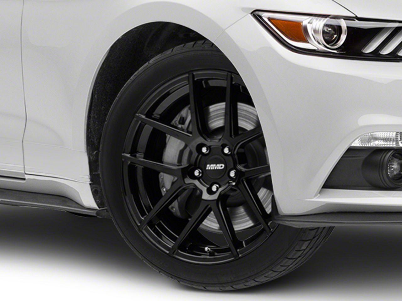 MMD Zeven Black Wheel - 19x8.5 (15-19 GT, EcoBoost, V6)
