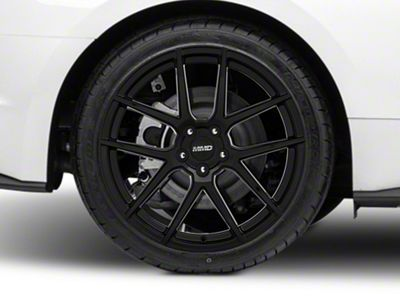 MMD Zeven Black Wheel - 20x10 - Rear Only (15-19 GT, EcoBoost, V6)
