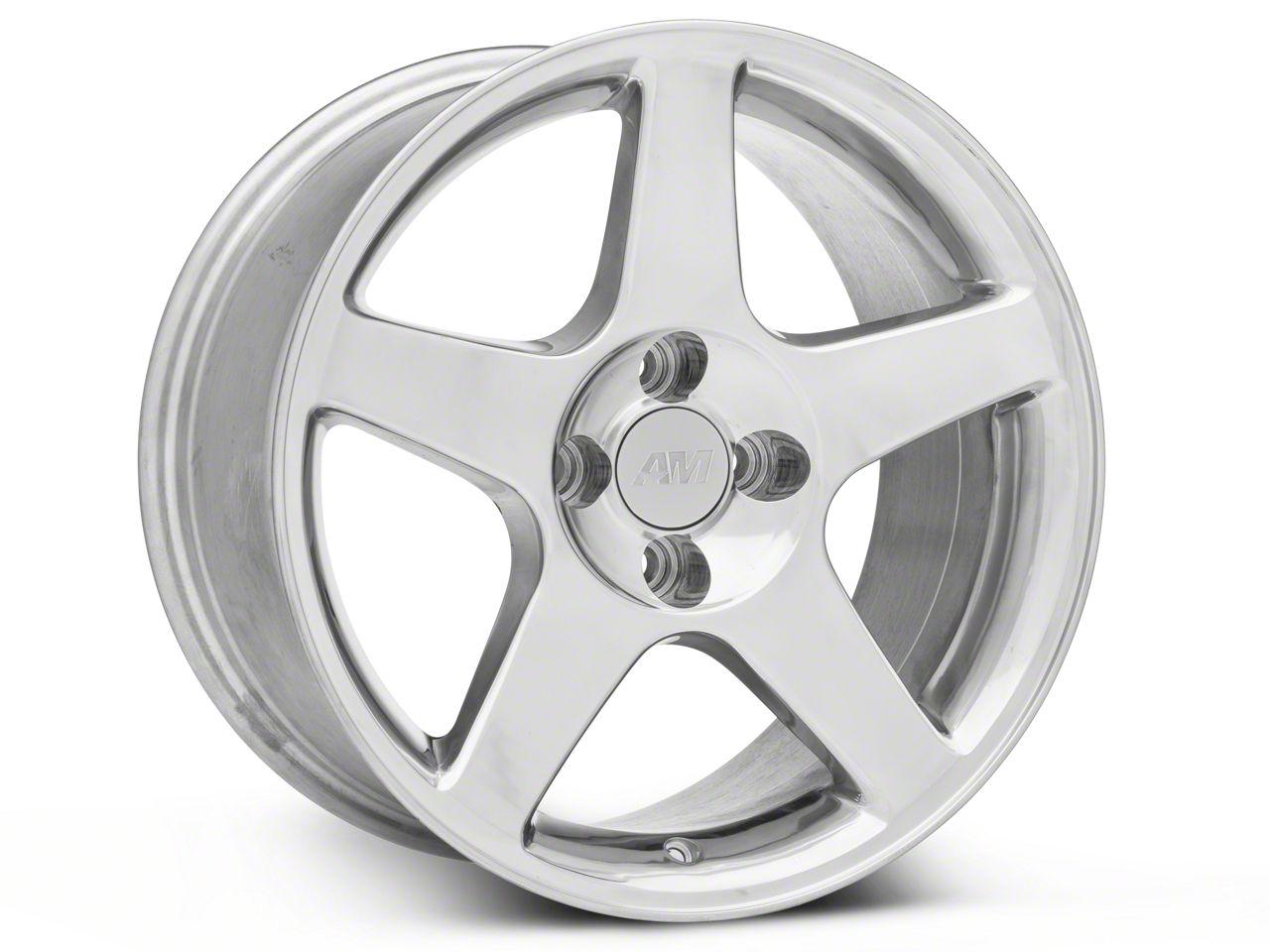 2003 Cobra Style Polished Wheel - 17x9 (87-93 All, Excluding Cobra)