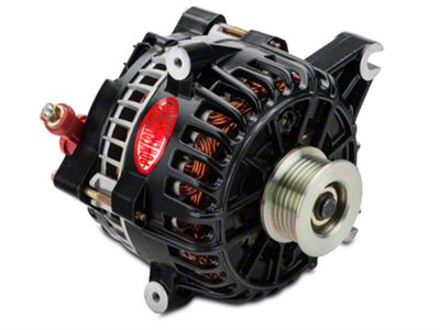 Powermaster Alternator - 200 Amp Black (99-04 GT)