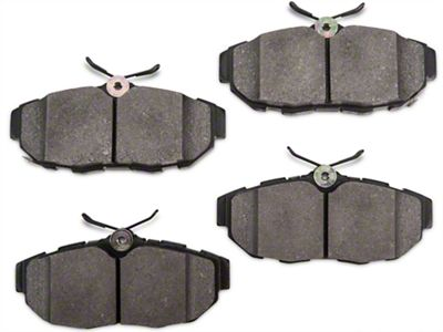 StopTech Street Performance Low-dust Composite Brake Pads - Rear Pair (11-14 All)