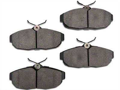 StopTech Street Performance Low-Dust Composite Brake Pads - Rear Pair (05-10 All)
