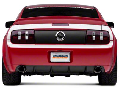American Muscle Graphics Silver Rear Surround Decal - Upper & Lower (05-09 All)