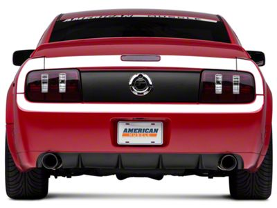 American Muscle Graphics White Rear Surround Decal - Upper & Lower (05-09 All)