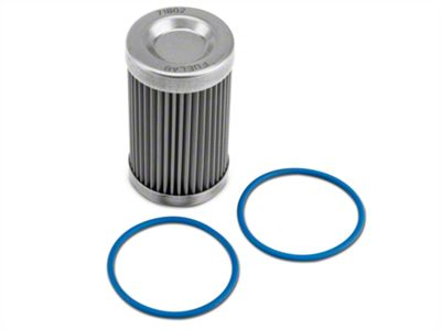 Fuel Filter Replacement Element - 40 Stainless Steel (86-19 All)