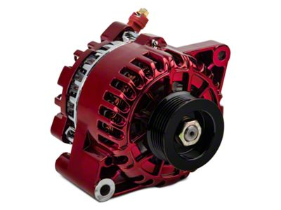 PA Performance Alternator - 130 Amp - Red (01-04 V6)