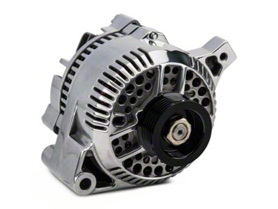 PA Performance Alternator - 95 Amp - Polished (87-93 5.0L)