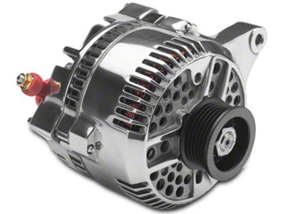 PA Performance Alternator - 130 Amp - Polished (96-98 GT)