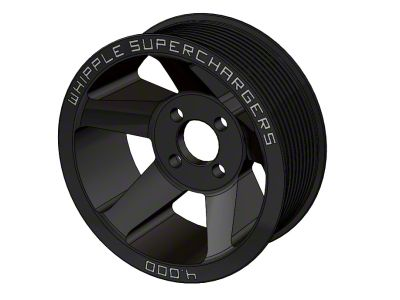 Whipple 10-Rib Supercharger Pulley (07-14 GT500)