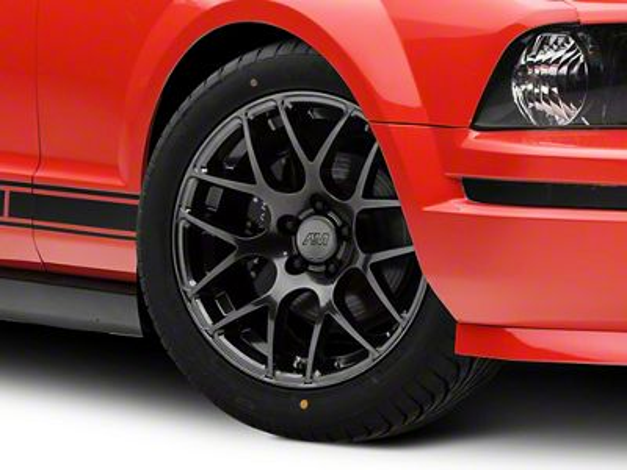 AMR Dark Stainless Wheel - 18x8 (05-14 All)