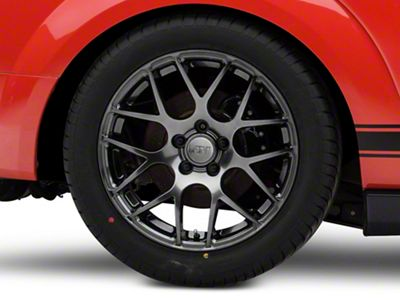 AMR Dark Stainless Wheel - 18x10 - Rear Only (05-14 All, Excluding 13-14 GT500)