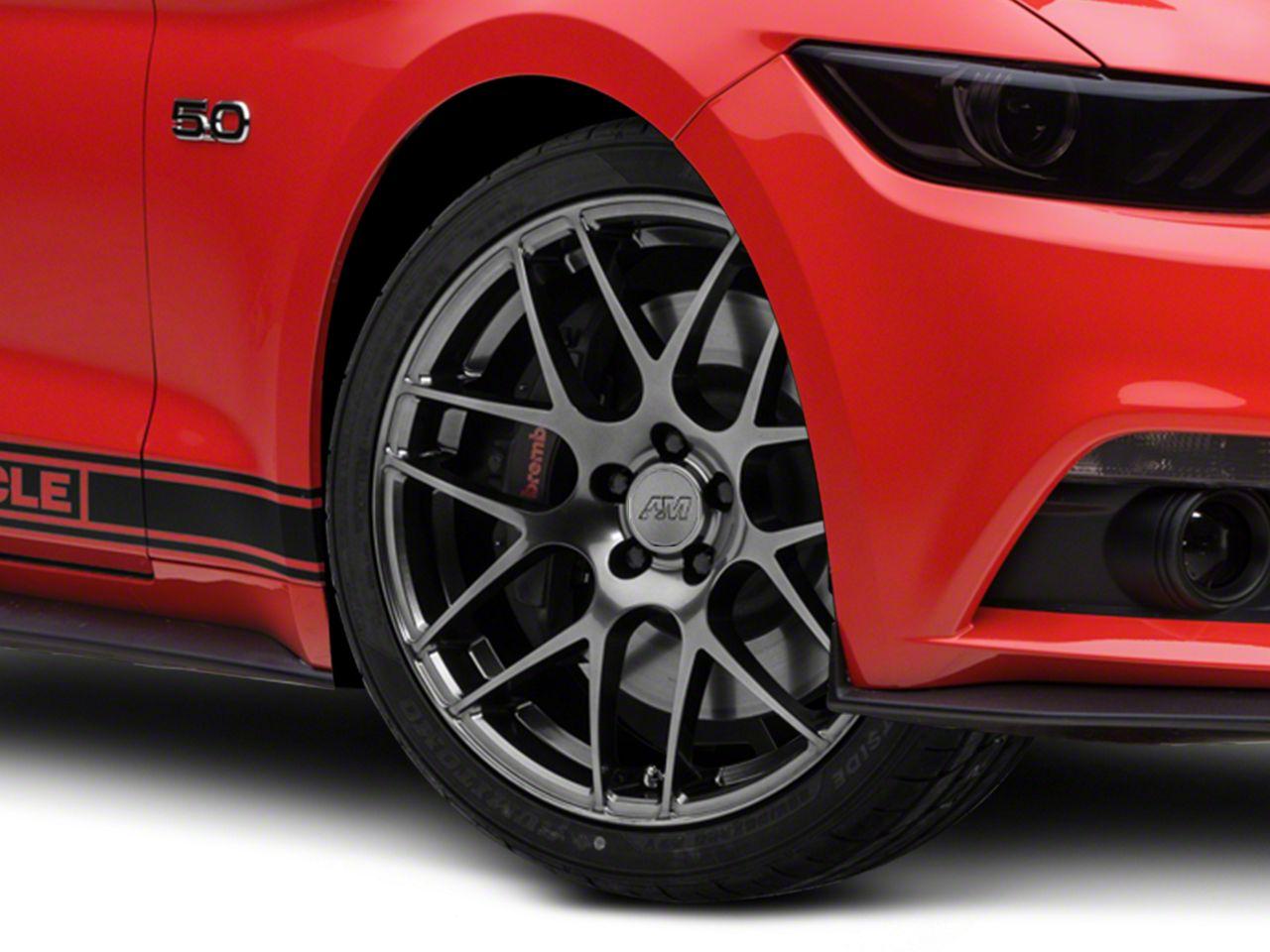 AMR Dark Stainless Wheel - 20x8.5 (15-19 GT, EcoBoost, V6)