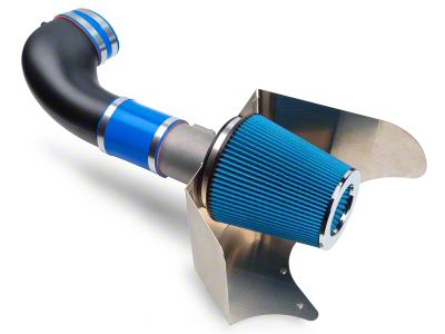 Steeda Cold Air Intake - Black/Blue (05-09 GT)