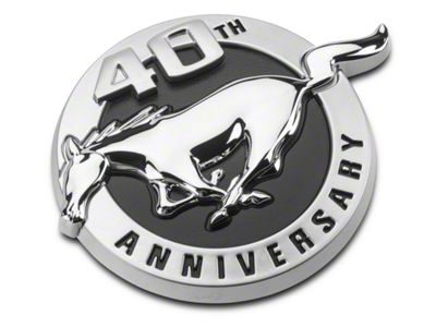 Ford 40th Anniversary Fender Emblem - Driver Side (2004 All)
