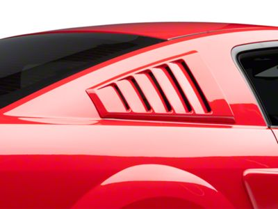 CDC Quarter Window Louvers - Unpainted (05-14 Coupe)