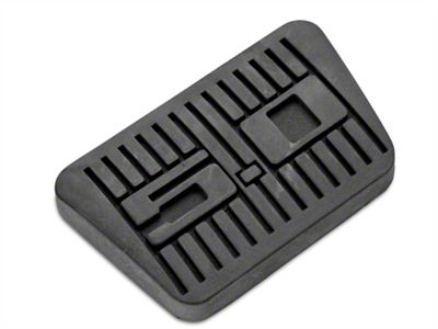 Scott Drake Mustang 5.0 Brake Pedal Cover (94-95 w/ Automatic Transmission)