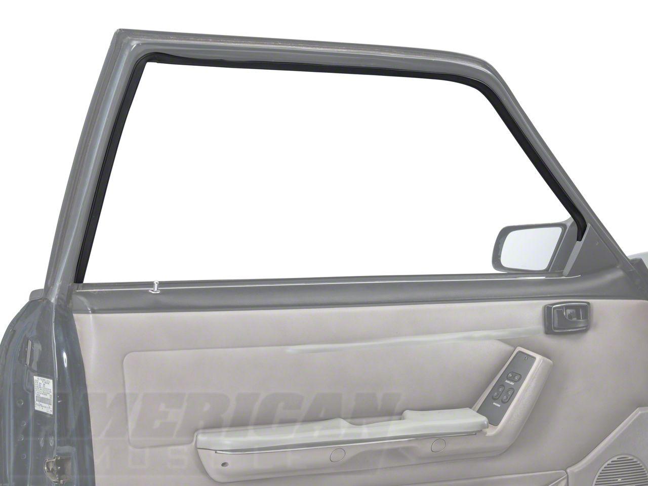OPR Door Window Run Channel - Driver Side (79-93 Coupe, Hatchback)