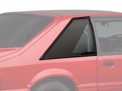 Scott Drake Replacement Quarter Window - Pair (87-93 Hatchback)