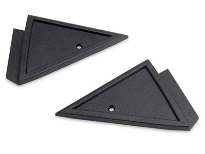 Scott Drake Power Mirror Mount Cover Panels (79-86 All)