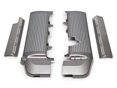 Fuel Rail Covers - Titanium Silver (05-10 GT)