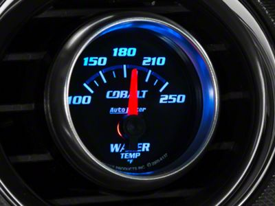 Auto Meter Cobalt Water Temp Gauge - Electrical (79-19 All)
