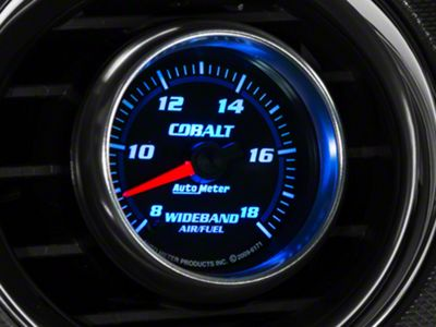 Auto Meter Cobalt Wideband Air/Fuel Ratio Gauge - Analog (79-19 All)
