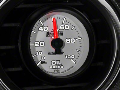 Auto Meter Phantom II Oil Pressure Gauge - Mechanical (79-19 All)