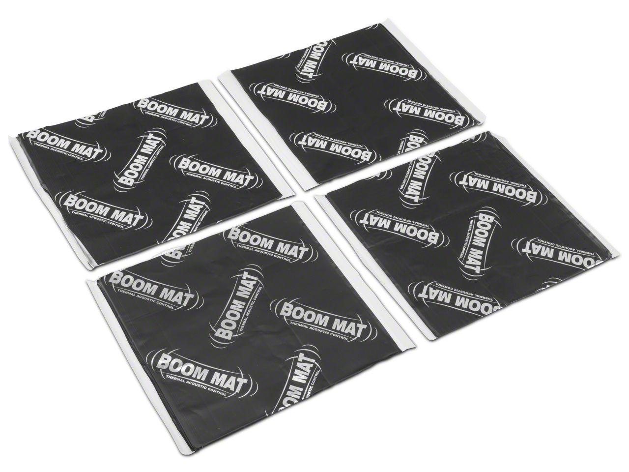 Boom Mat Vibration Dampening Material - 4 Sheets