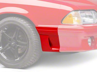 OPR Right Side Fender Molding w/ Side Scoop - Front (91-93 GT)