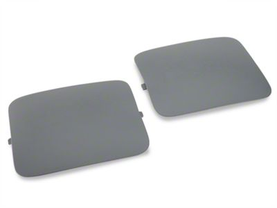 OPR Hatchback Shock Access Covers - Gray (87-89 All)