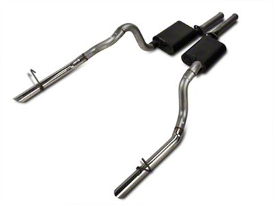 Flowmaster American Thunder Cat-Back Exhaust w/ Polished Tips (87-93 LX; 1986 GT)