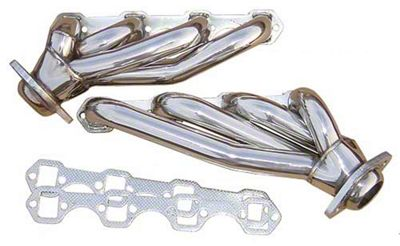 Pypes 1-5/8 in. Polished Shorty Headers (87-93 5.0L)