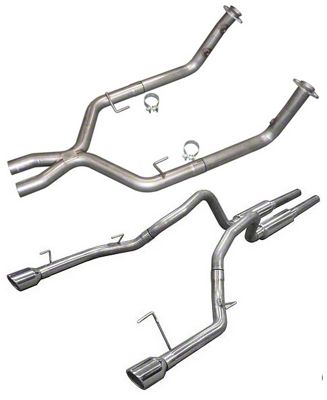 Pypes The Beast Off-Road Mid-Muffler Exhaust (05-10 GT)
