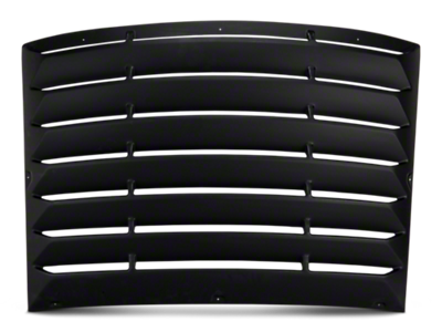 Challenger Louvers - Rear Window