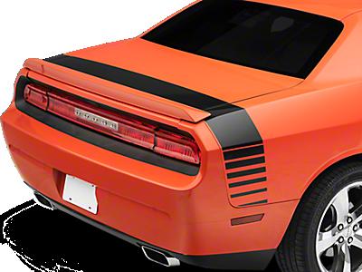 Challenger Decklid & Rear Bumper Decals