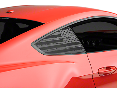 Quarter Window Covers & Decals<br />('15-'18 Mustang)