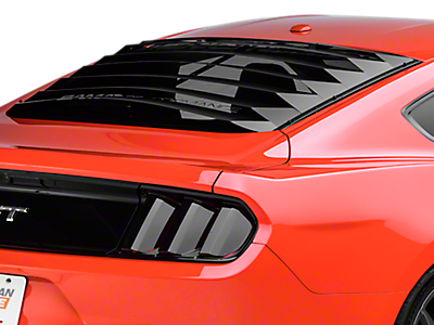 Louvers - Rear Window<br />('15-'20 Mustang)