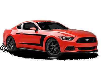 Rocker Panel & Side Stripes<br />('15-'21 Mustang)