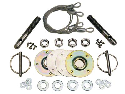 Ford Performance Hood Latch and Pin Kit (79-04 All)