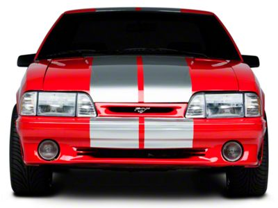 American Muscle Graphics Silver Lemans Stripes - 12 in. (79-93 All)